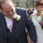 Bride and Groom Ceremony Confetti