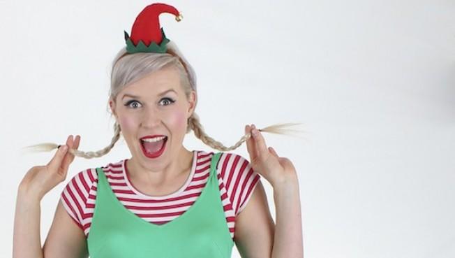 Christmas Hula Elf