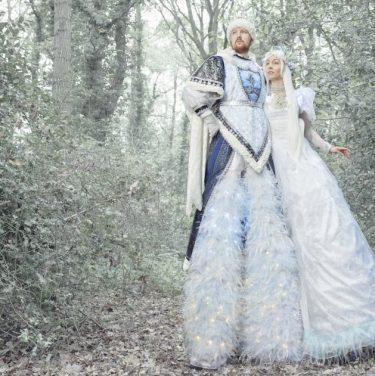 Snow King & Queen