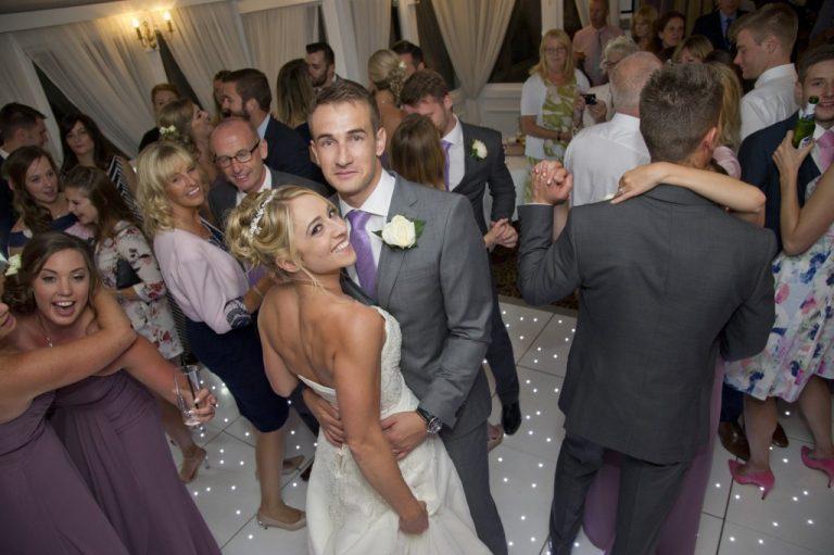 Bride and Groom Dance Floor