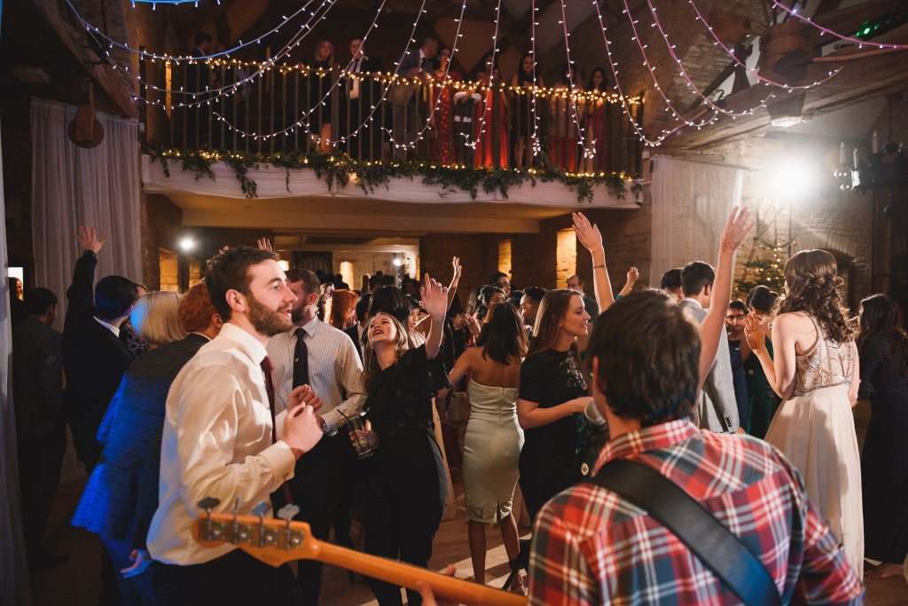 Wedding Band Dance Floor