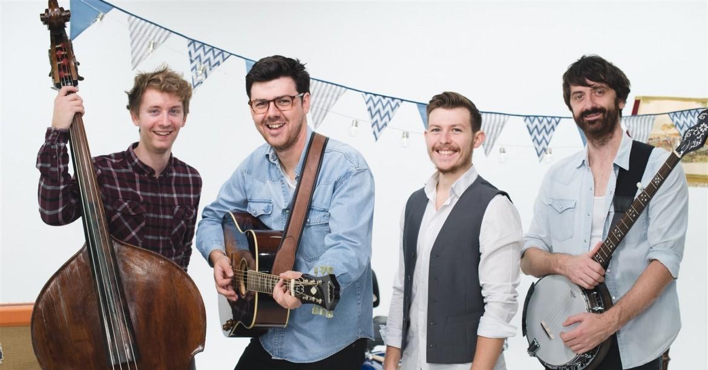 Folk season festival wedding band