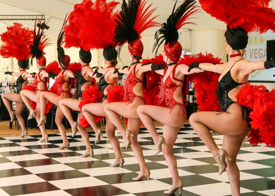 show girl dancers