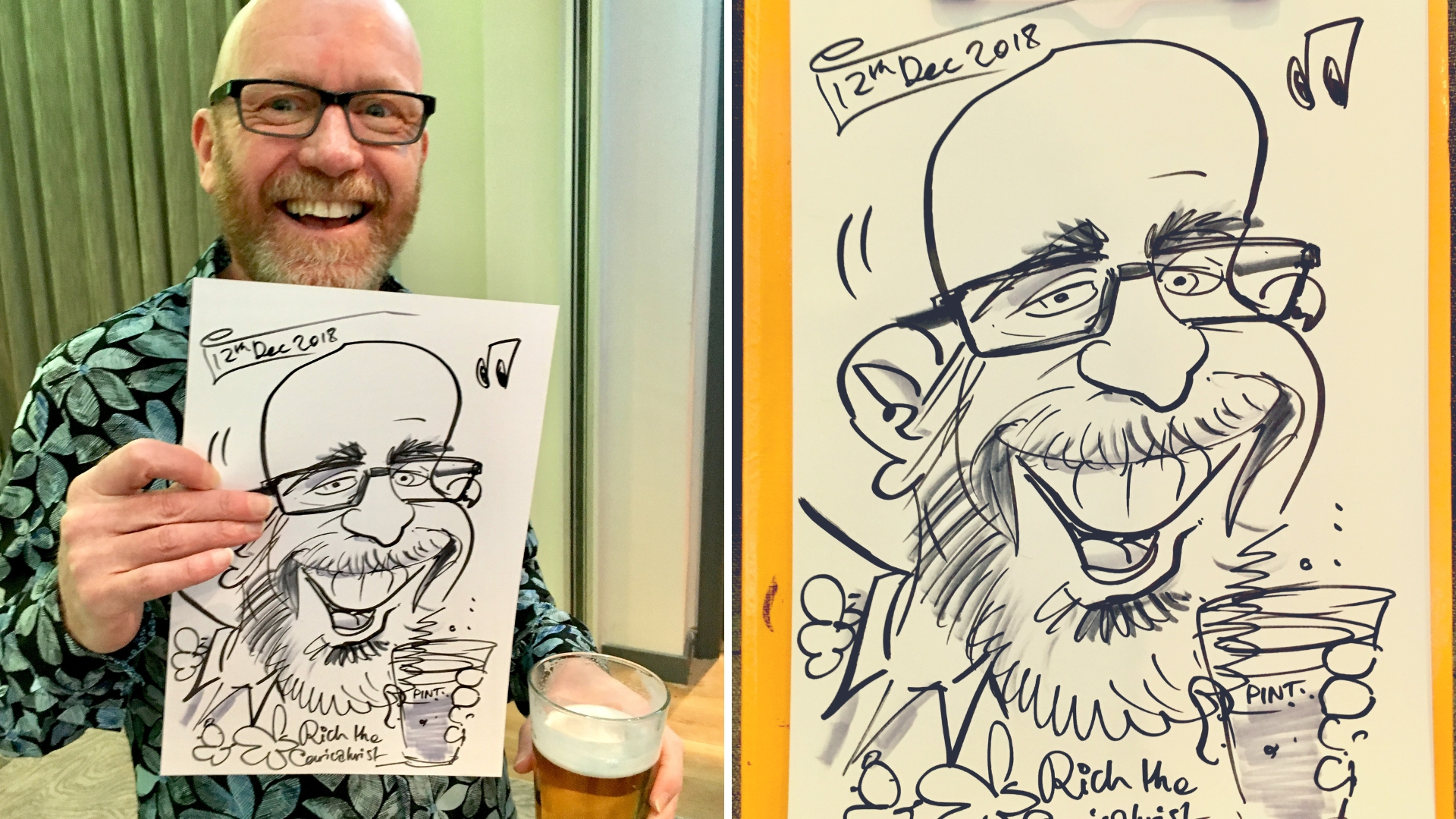 warble caricaturist