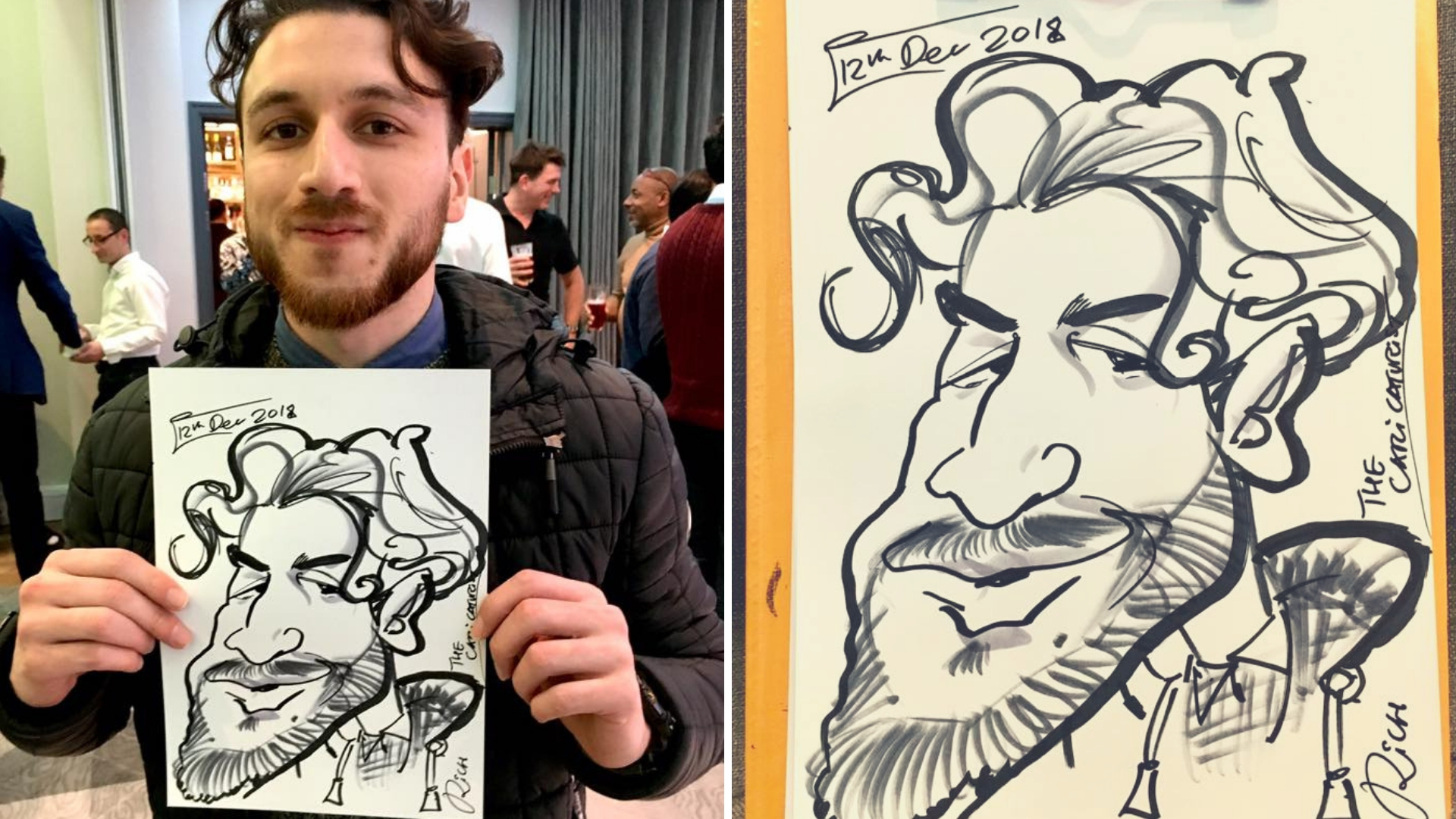 caricaturist for hire