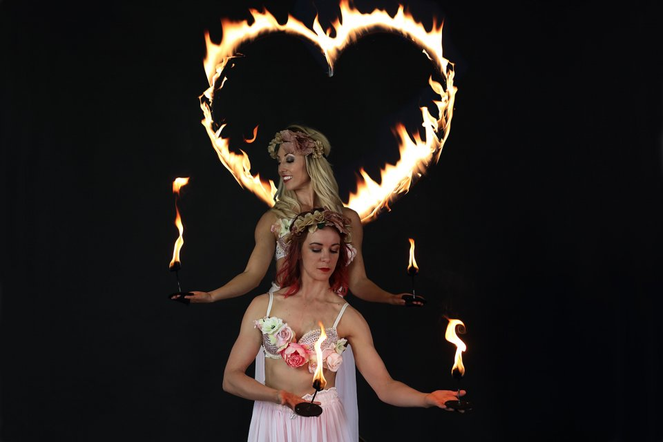 Fire Performer for Weddings