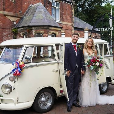 Wedding VW van