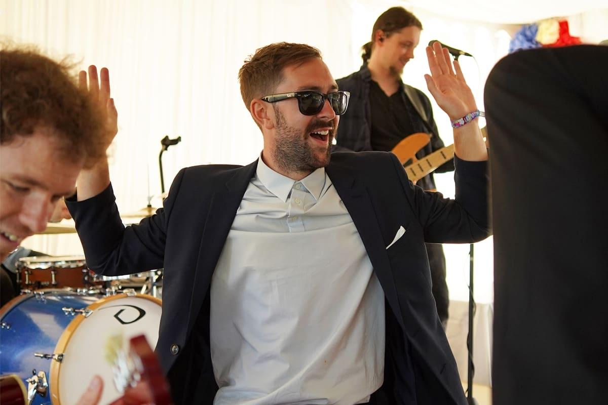the gobots wedding band