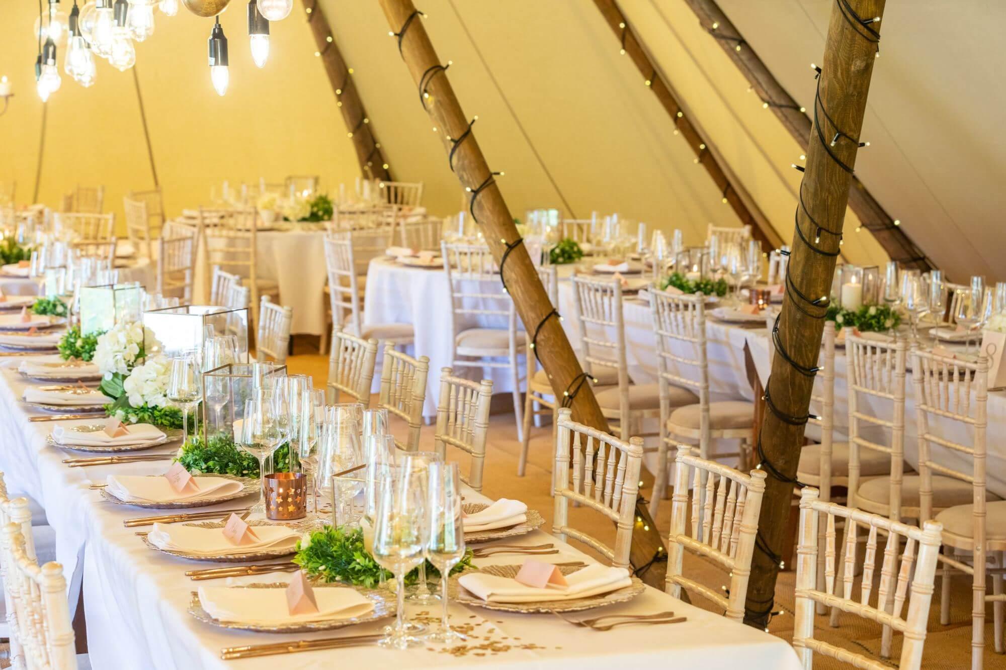 wedding tipi ideas festival