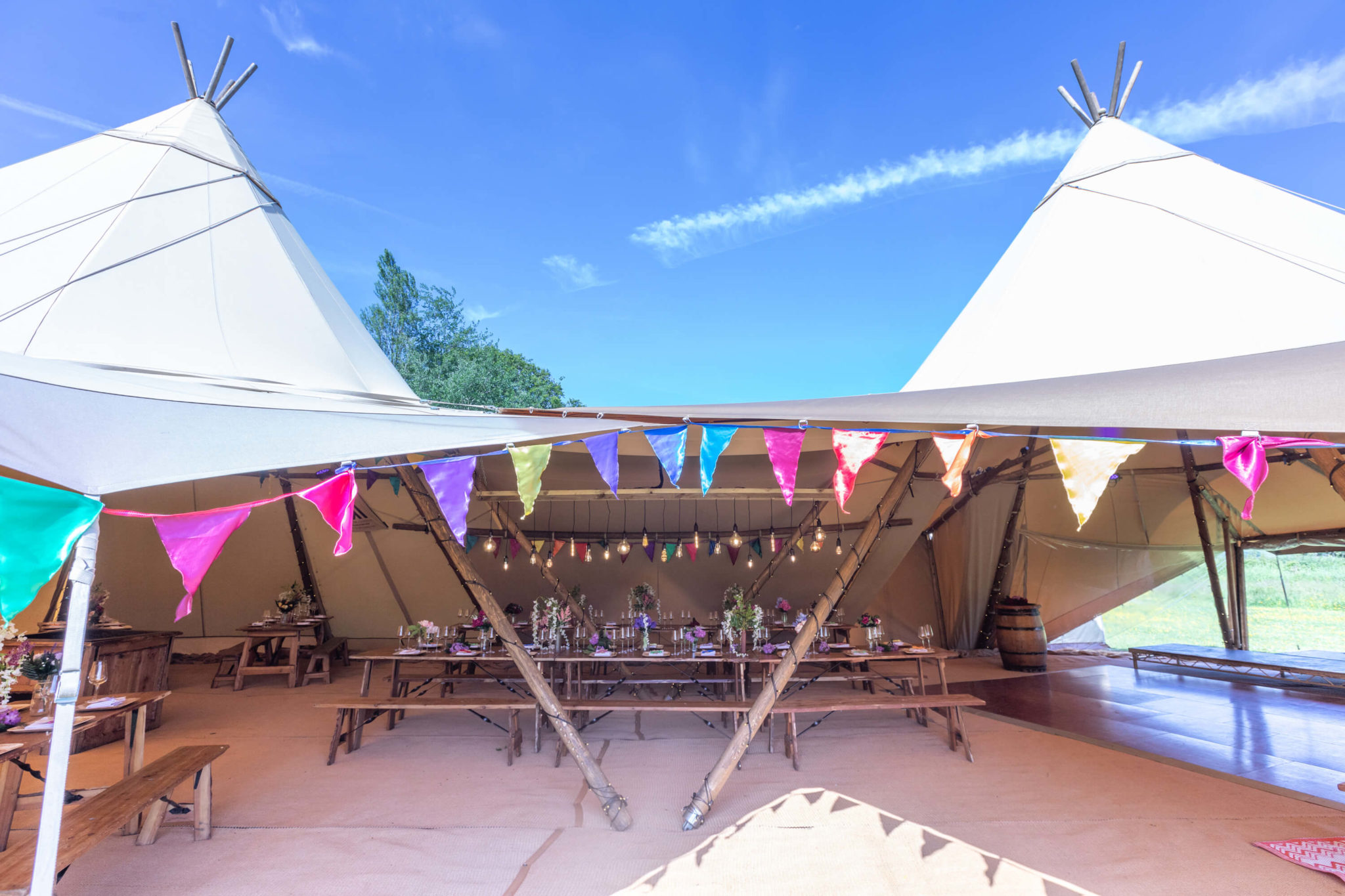 wedding tipi tent