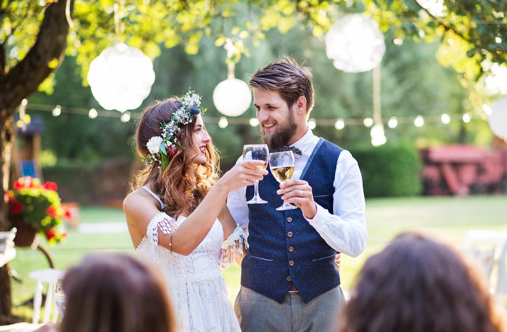 Festival wedding ideas