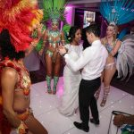 brazilian dancers real wedding