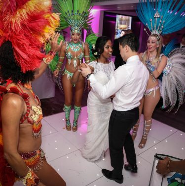 brazilian dancers real wedding