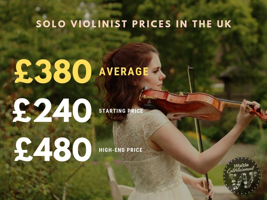 How Much Does It Cost to Hire a Violinist?