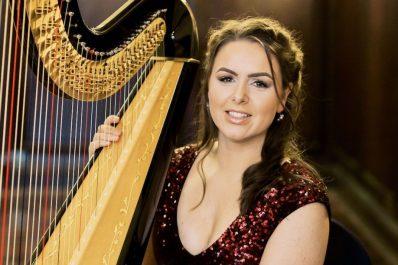 north west wedding harpist