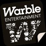 Warble Entertainment Black And White Logo