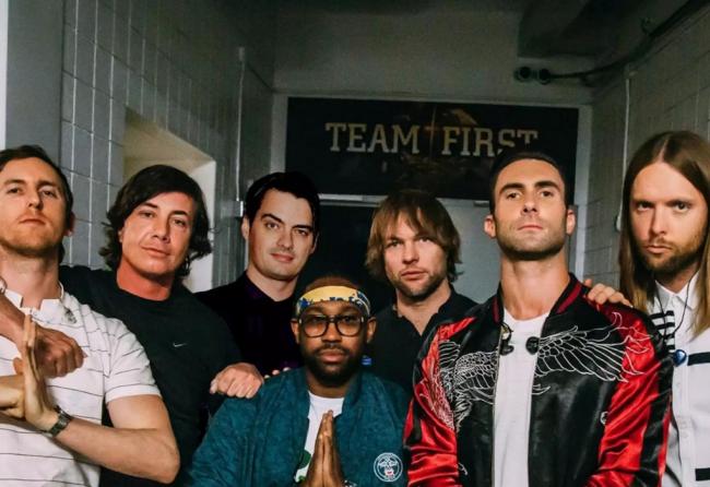 Maroon 5 Band Promo