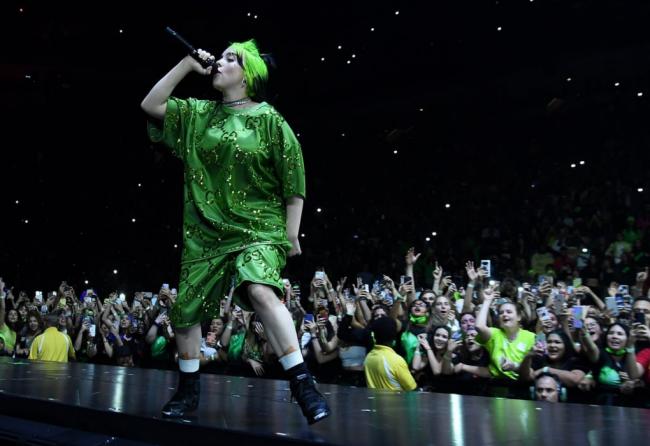 Billie Eilish Stage Performance Live